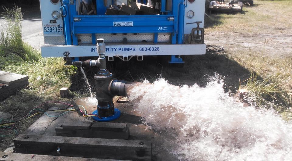 40 HP, 750 GPM, pump set- 42′ 6″